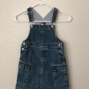 Girls Tommy Hilfiger Overall Dress
